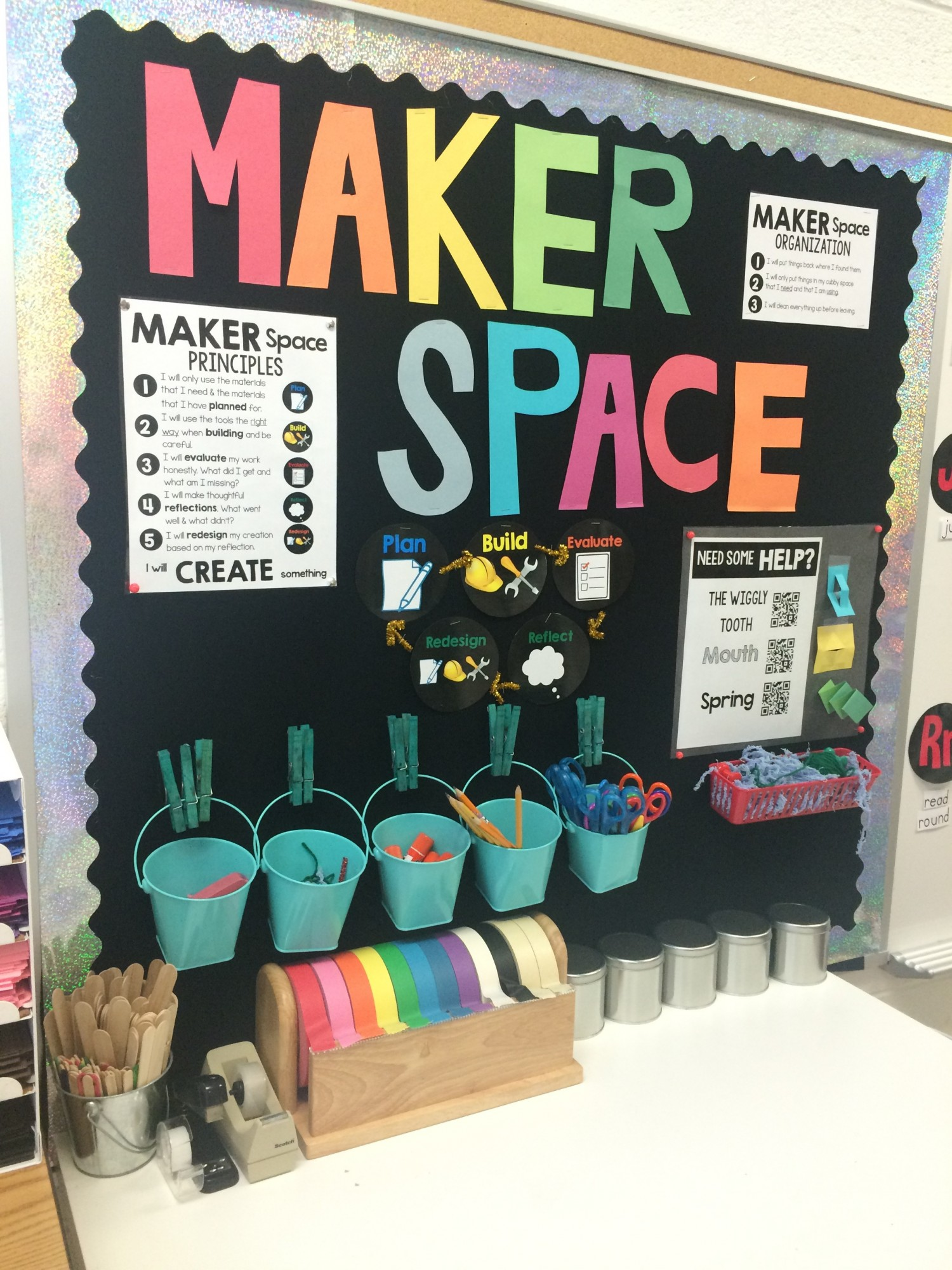 Classroom Redesign ~ Nd grade maker space colorize your classroom