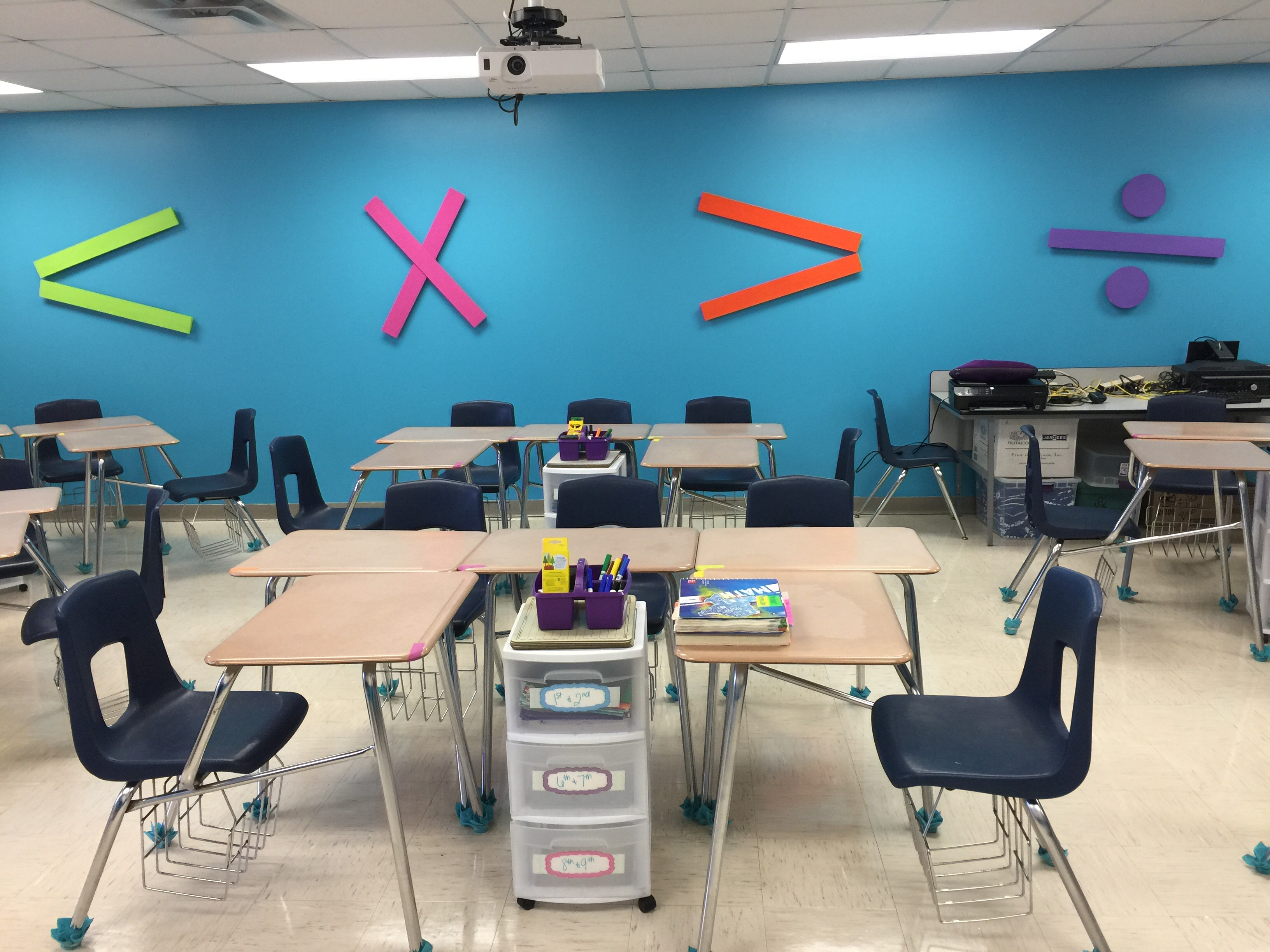 6th Grade Classroom Decoration ~ My th grade math classroom colorize your